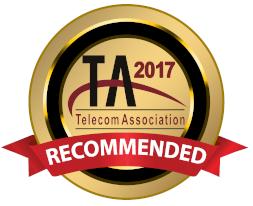 2017 Telecom Association Recommended Partner