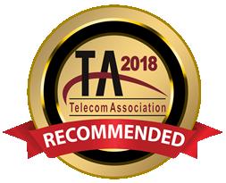 2018 Telecom Association Recommended Partner